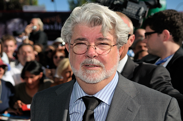 FILMMAKER GEORGE LUCAS AND WIFE WELCOME BABY GIRL VIA SURROGATE