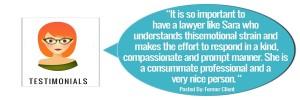 Sara Clay Surrogacy Law Testimonial 1